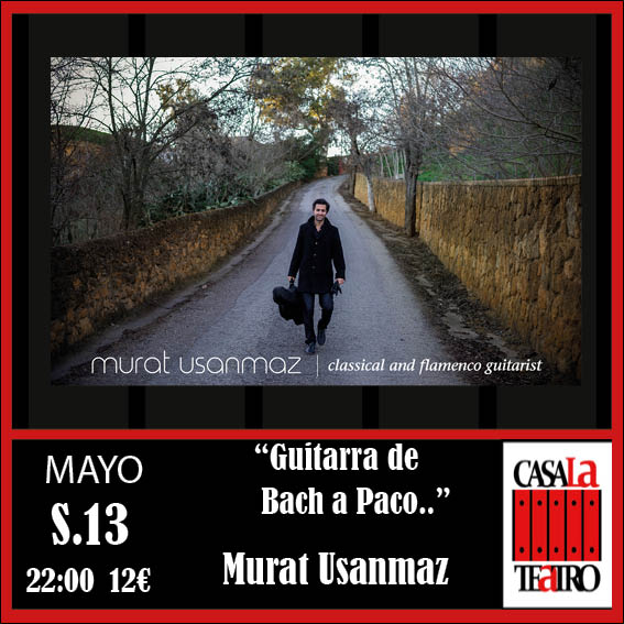 """Guitarra de Paco Bach .."" Murat Usanmaz"