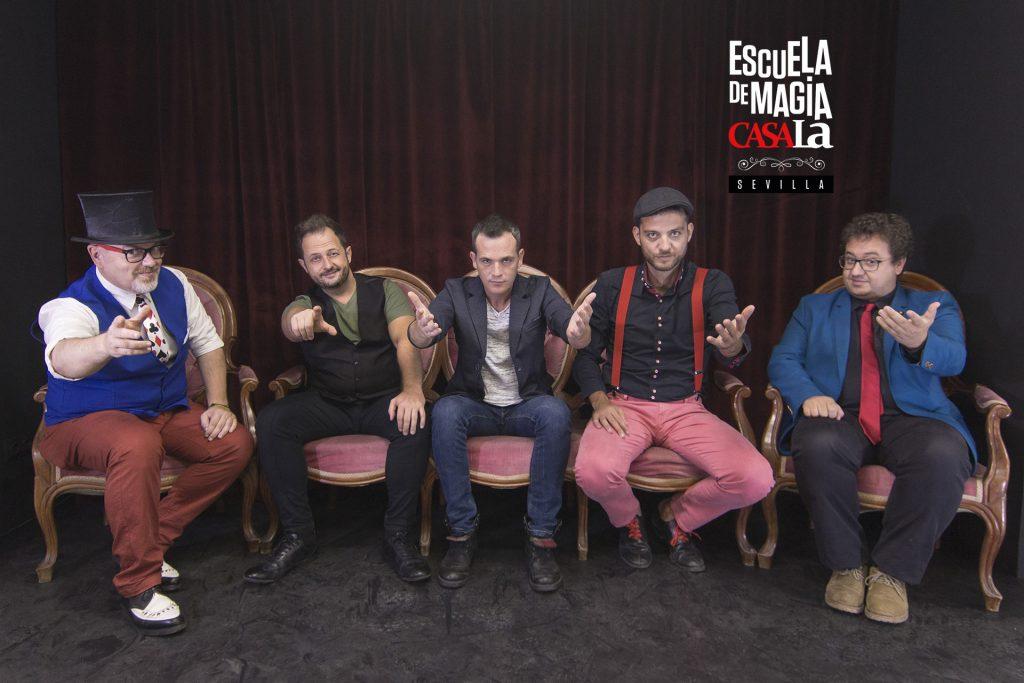 Escuela de Magia de Sevilla, CasaLa. Una nueva forma de aprender Magia.