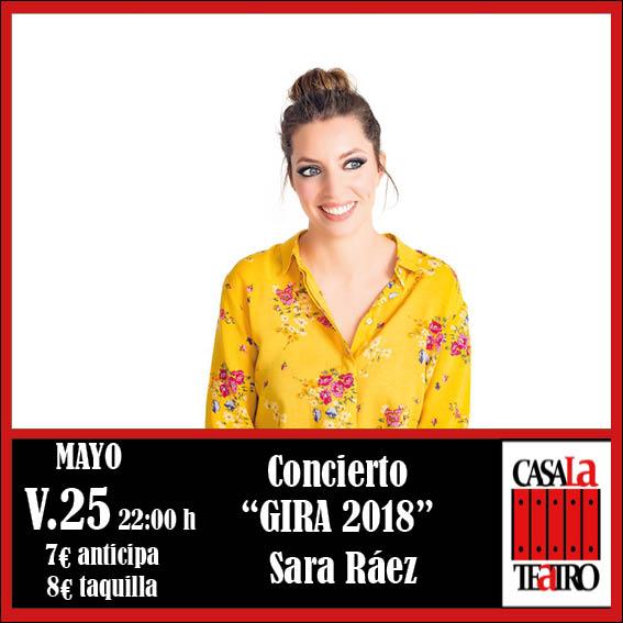 SARA RÁEZ en concierto
