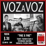 VOIX VOIX Carmen Lara, Celedonio Garrido et Sergio Gómez